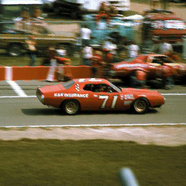#71 Dave Marcis 1976 Champion Spark Plug 400 @ Michigan