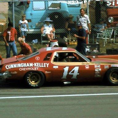 #14 Coo Coo Marlin 1976 Champion Spark Plug 400 @ Michigan