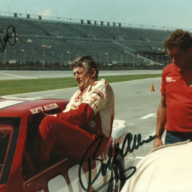 Bobby Allison and Jimmy Fennig
