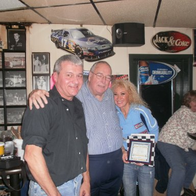 """Peoria Oldtimers Racing Club """"Hall of Fame"""" 2011 """"Inductions"""" at Mooney's Pub in Peoria Illinois on December 03, 2011"""