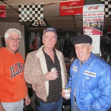 "Peoria Oldtimers Racing Club 2011Hall of Fame  ""Inductions"" Party"
