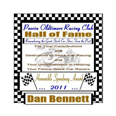 "PORC ""Honorary Speedway Award"" - 2011"