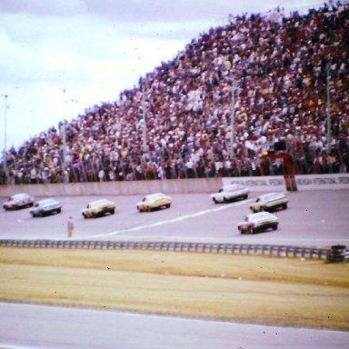 #43 Richard Petty wins 1974 Motor State 400 @ Michigan