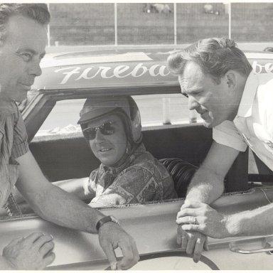Ralph Moody, Fireball Roberts, Fred Lorenzen