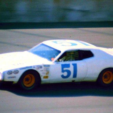 USAC #51 Bob Whitlow 1974 Twin 200 @ Michigan
