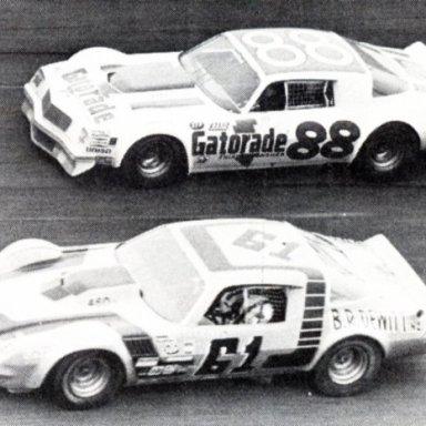 Darrell Waltrip & Richie Evans 1978