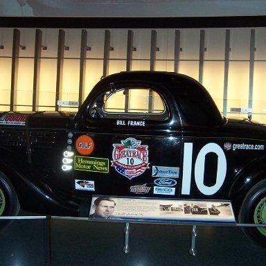 Bill France Car-NASCAR Hall of Fame