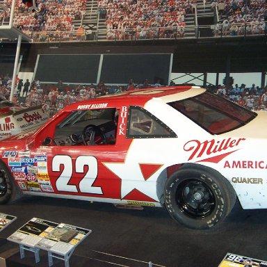Bobby Allison Car-NASCAR Hall of Fame