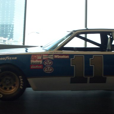 Cale Yarborough 11 Busch Beer Car-NASCAR Hall of Fame