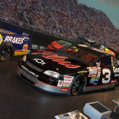 Dale Earnhardt Car-NASCAR Hall of Fame