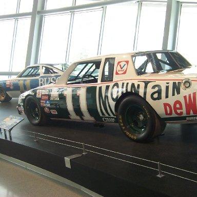 Darrell Waltrip Car-NASCAR Hall of Fame