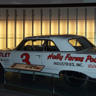 Junior Johnson Car-NASCAR Hall of Fame