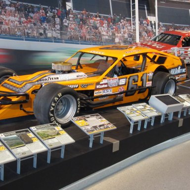 Richie Evans Car-NASCAR Hall of Fame