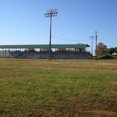 Fair grounds grandstands