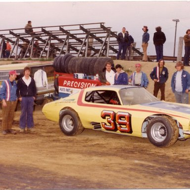 Sam Faur - Auto City Speedway, Mt. Morris, MI  1975