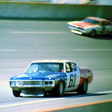 USAC #61 Gary Bettenhausen #3 Paul Feldner 1973 Twin 200 @ Michigan