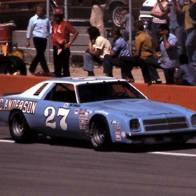 #27 Sam Sommers 1977 Cam 2 Motor Oil 400 @ Michigan