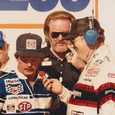 Daytona victory lane interview