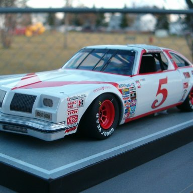 1980 Sterling Marlin, The 5 Racers Oldsmobile.