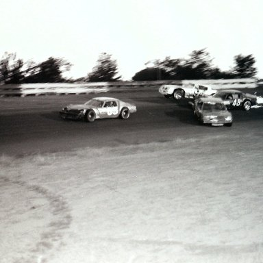 Old Dominion Speedway about 1986