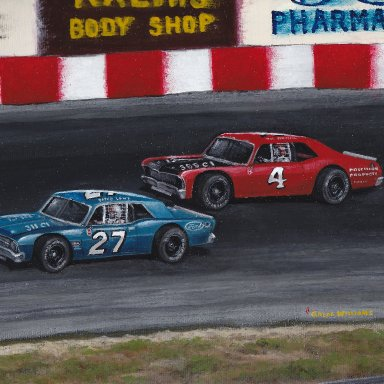 Bosco and Bob, Asheville Speedway, NC