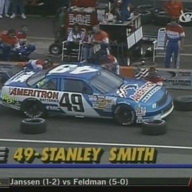 Stanley Smith #49 AMERITRON BATTERIES Chevy