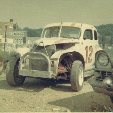 40 Ford in back of garage, Putnam CT ,60s