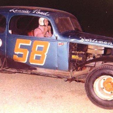 Lennie Pond sportsman #58