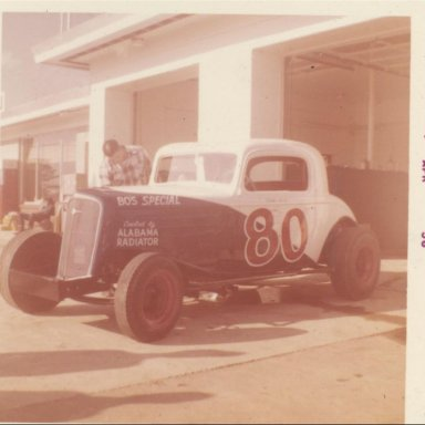 Bo Freemans #80 driven by Sonny Black