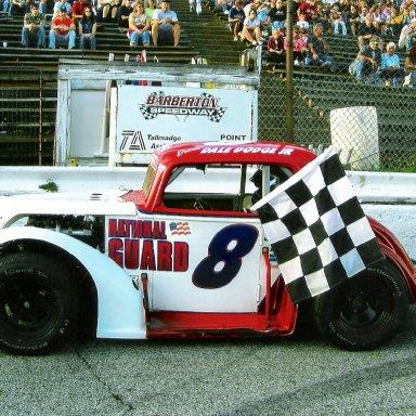 2008 heat race Barberton