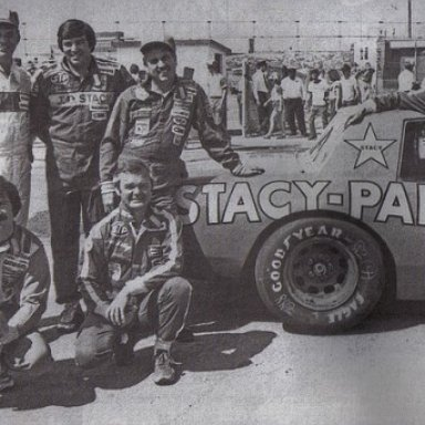 JD Stacy and drivers 1982