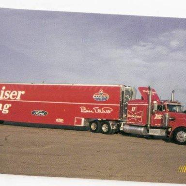 Budweiser Racing Hauler