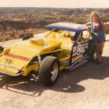 Amarillo Texas Open Wheel Modified-Lady Driver