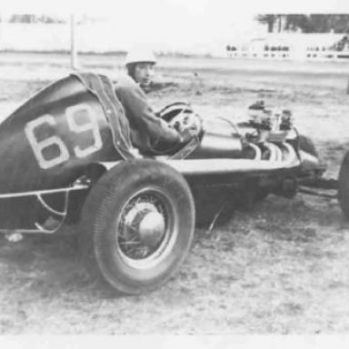 Grant King's first sprint car