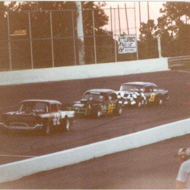 Vintage Cars - Cordele Speedway