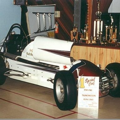 GMC 6 powered sprint car