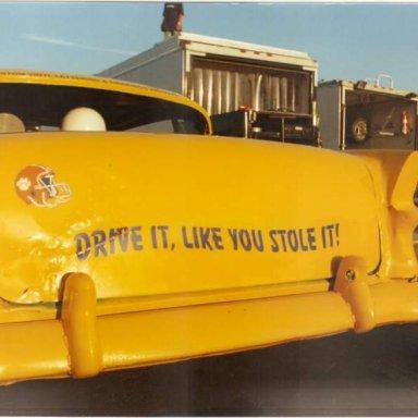 Vintage 55 Chevy - Cordele Speedway