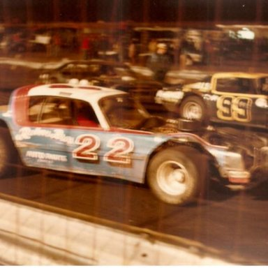 Speedway Park, Jax Fl.  # 99 Jack Nolan driven a Chuck Stokes owned car.