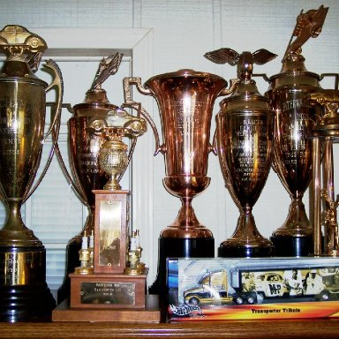 Fireball Roberts Trophies