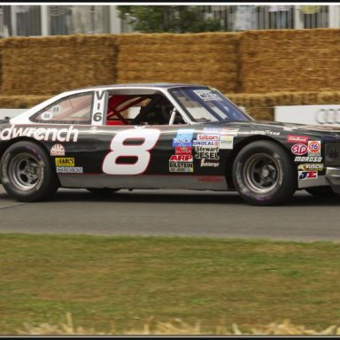 Gene with the #8 Nova at Goodwood 2005