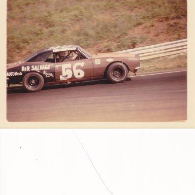 Gene in Nascar Grand American at Road Atlanta 1972