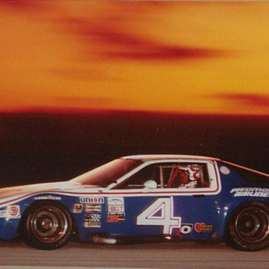 Billy Hagan, Gene Felton, Terry Labonte winning 24 hours of Daytona 1984