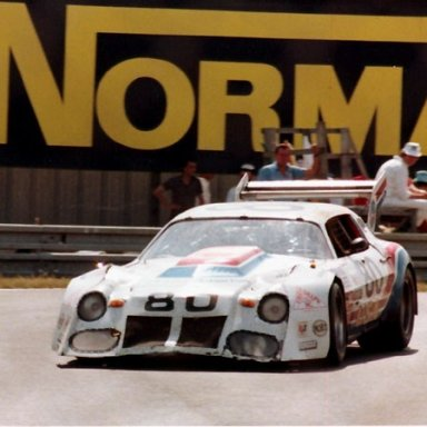 Driving for Billy Hagan and Tex Powell, at 24 hours of Lemans,