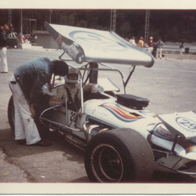 Cliff Hucul with Super modified Victoria BC