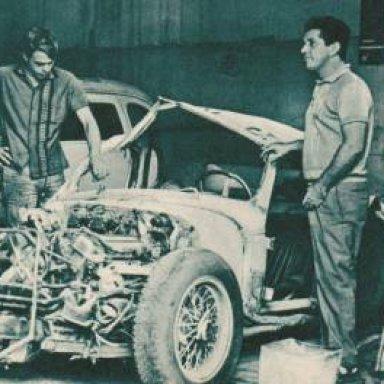 Camillo Christofaro - Cherolet 327 - crashed - 1967