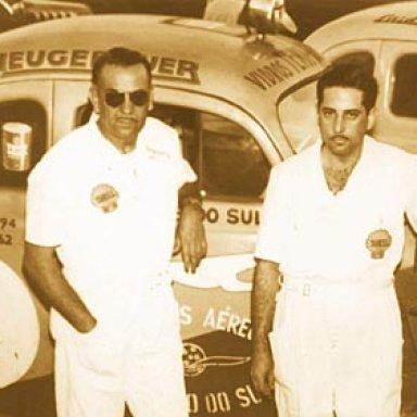 Catharino Andreatta and Breno Fornari - Ford 312 - 1950's