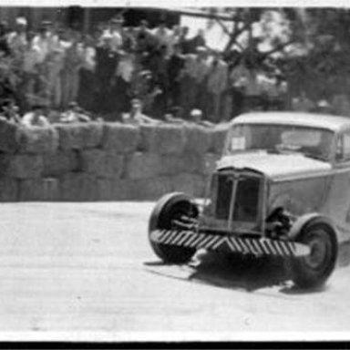 Fernando Bier da Silva - Jaguar MkV - 1950's