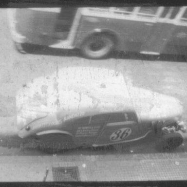 Darci Nunes - Jaguar MkV - 1957