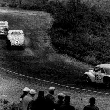 "Brazilian ""Carreteras"" on the track - late 50's"