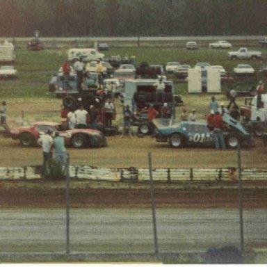 01 Jack Pennington & 30 Earl Arnold Myrtle Beach SC dirt 1981